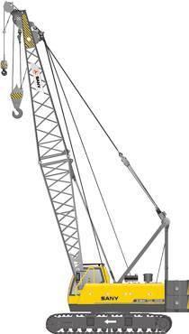 Crawler crane sany scc500e