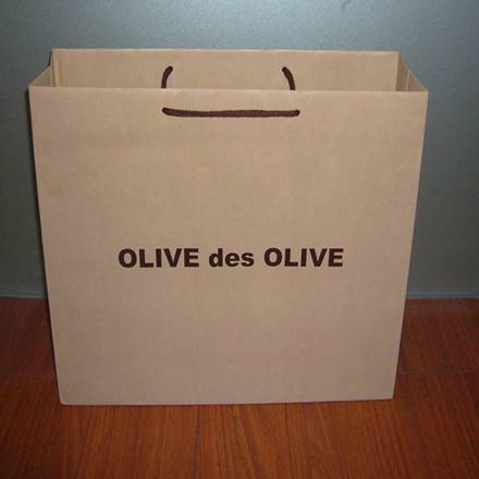We are paper bag for gift/ brown paper bag supplier