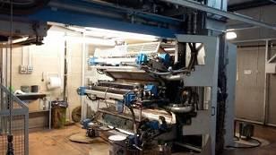 Flexographic Printing Machine C.I. 6 colors