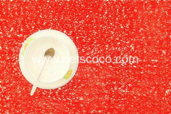 Netscoco New Arrive Hot Sell Scribble Vinyl Placemat PVC Placemat