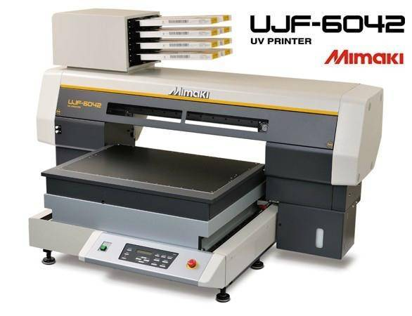 MIMAKI UJF-6042 A2 Format UV LED Flatbed Printer
