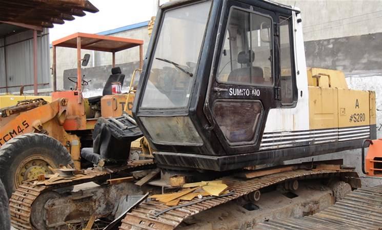 Excavator used low price SUMITOMO Excavator SH280