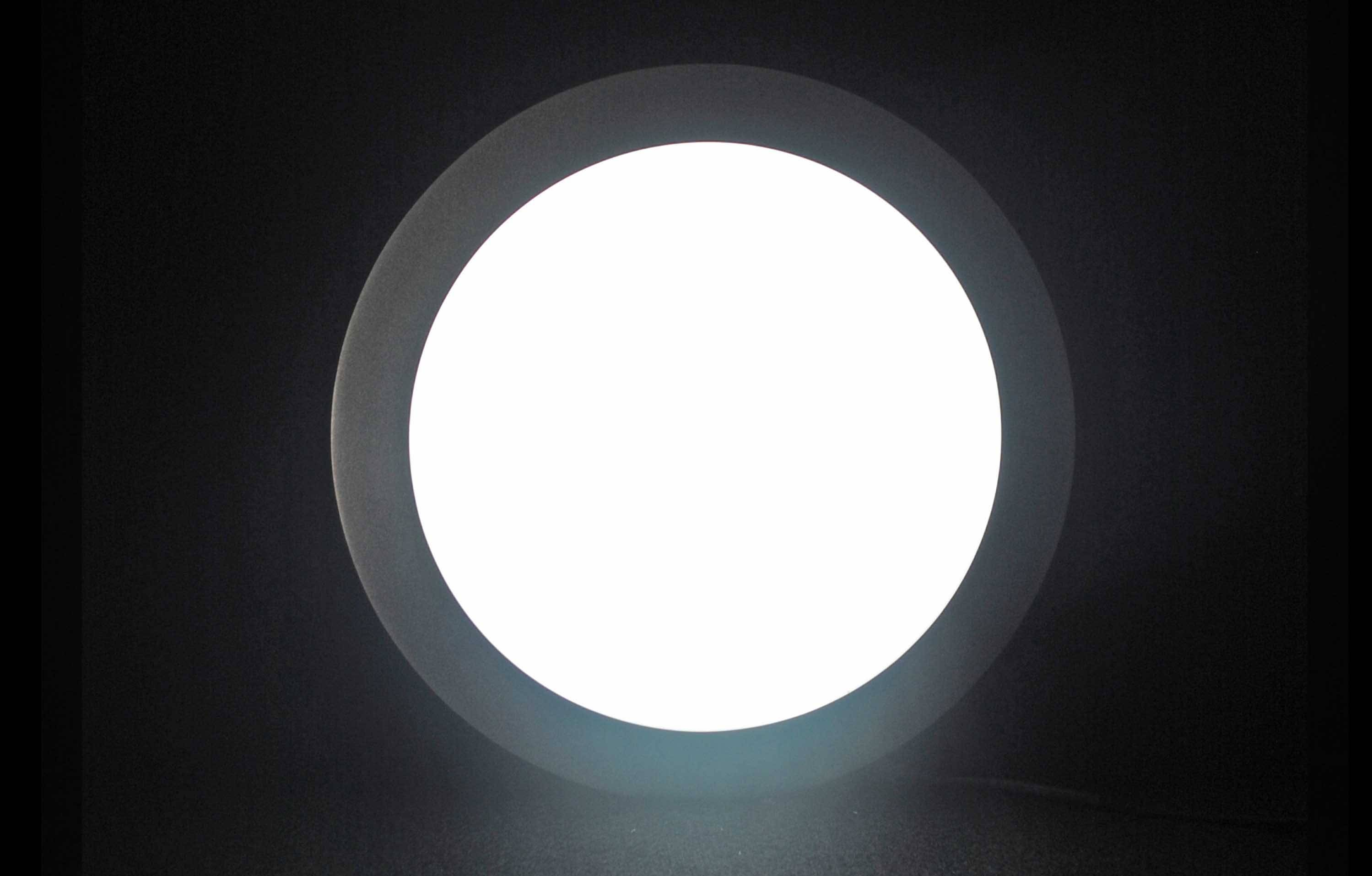 Round shape led recessed lamp