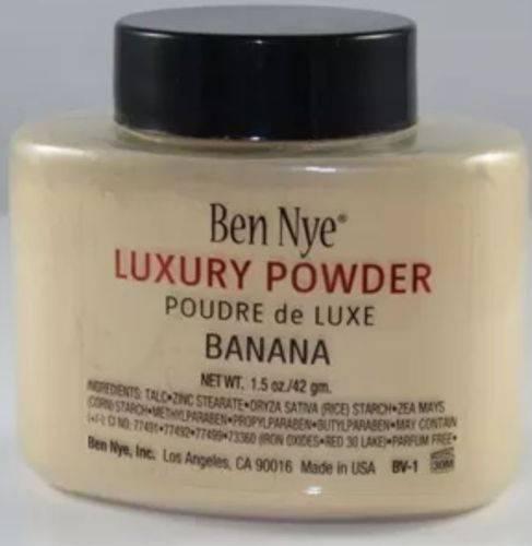 Ben Nye Banana Luxury Powder 1.5 oz Bottle Face Makeup Kim Kardashian Authentic