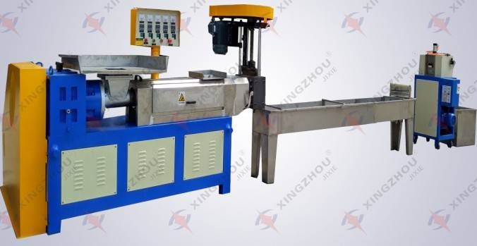 plastic pipe granulators/Economical Granulation Production Line/types of plastic granules pe