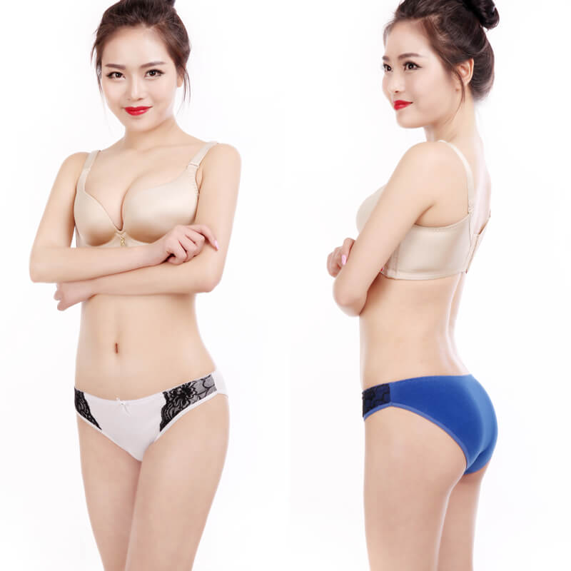 Yun Meng Ni Sexy Underwear Cute Bow Ladies Briefs Comfortable Cotton Panties For Women D