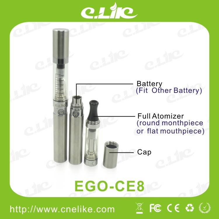 CE, RoHS, FCC Approved EGO-CE8 Starter Kit Gaint Vapor
