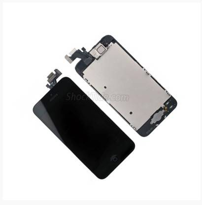 Full Set LCD Screen Display with Touch Screen Digitizer Assembly for iPhone 5 5G - Black