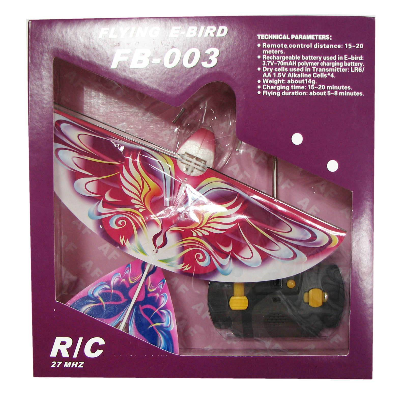 radio control toy flyiing bird