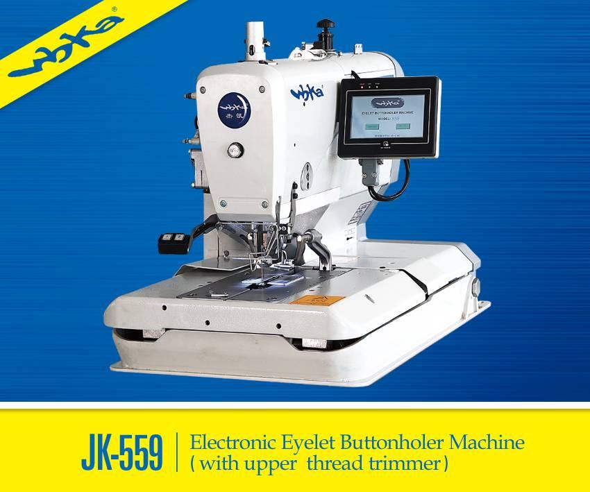JK-559 Eyelet Button Holer Industrial Sewing Machine
