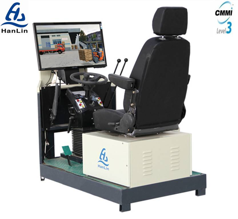 construction machinery training simulator