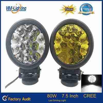 Super bright 80W led driving light