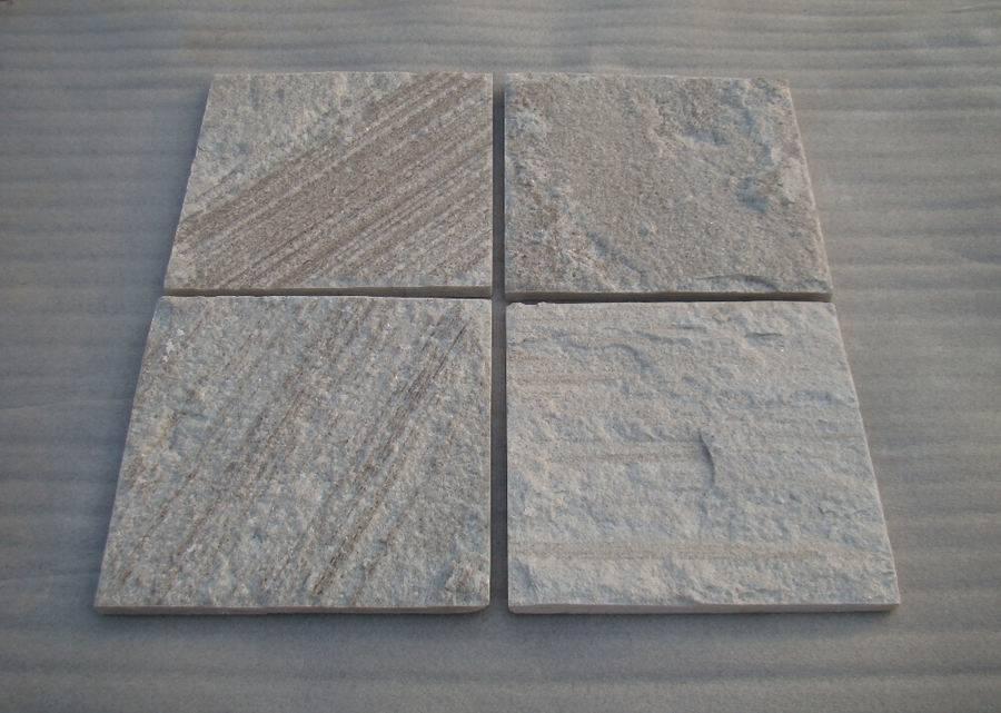 White wood-grain quartzite tile ZF1307
