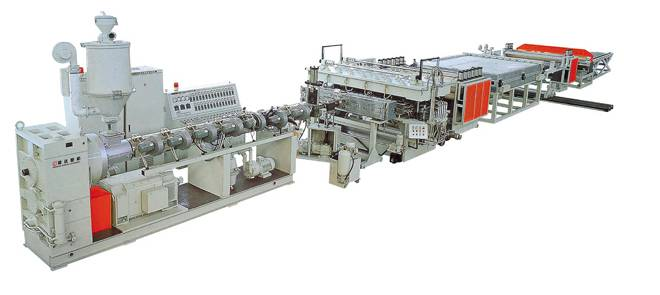 all kinds of the pet material extrusion and recycle production lines