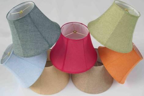 softback linen lampshades