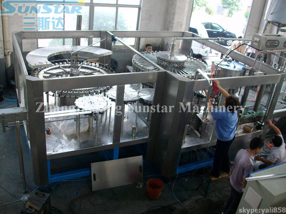 Juice Tea Beverage Making and Packing Machine(RCGF40-40-12)