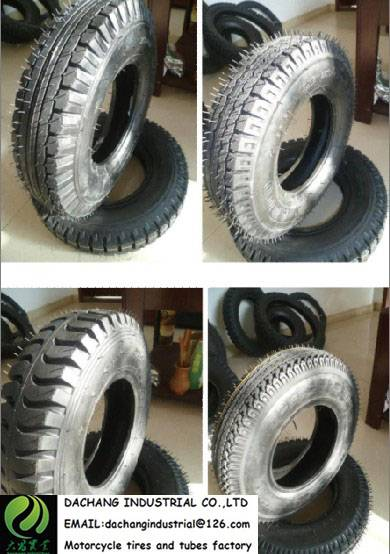 400-8 tricycle tire 3.3 KGS 8 PR 50% RUBBER