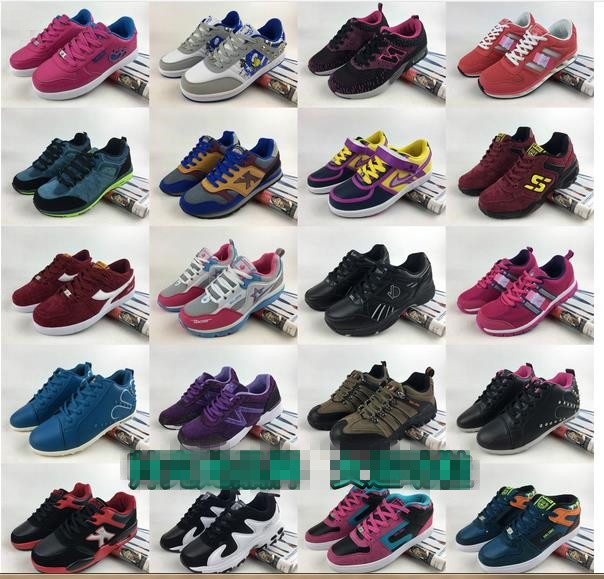 children sports shoes stock