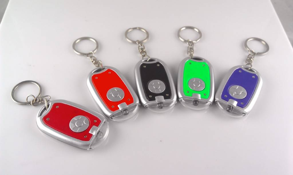 2015 Ellipse Shape led key chain for promotional gift