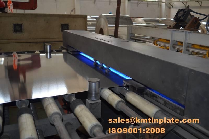 Electrolytic tin plate