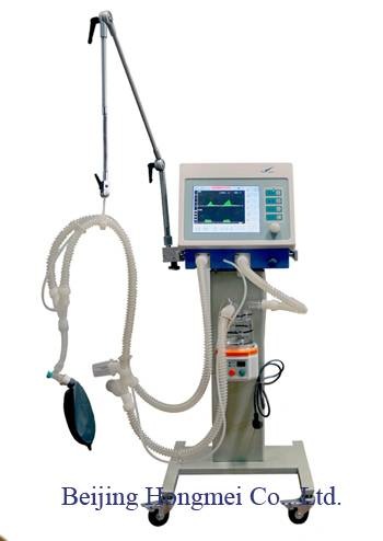 First Aids/Breathing Apparatus / Hospital Medical ICU Ventilator Without Air Compressor, with Oxyge