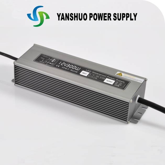 300W waterproof constant voltage led power supply
