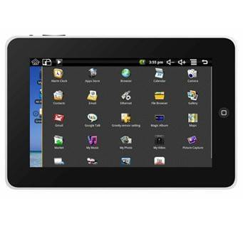 2010 Hot-selling PC 7inch New Tablet Ipad/ipod PC M70003