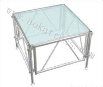 Assemble stage distributors/Glass stage manufacturers