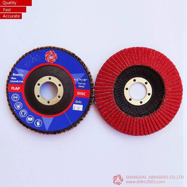 100% Ceramic Flap Discs (VSM XK870X)