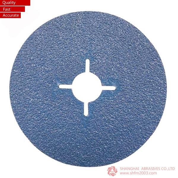 Zirconia Abrasives Sanding Fiber Disc (VSM Material)
