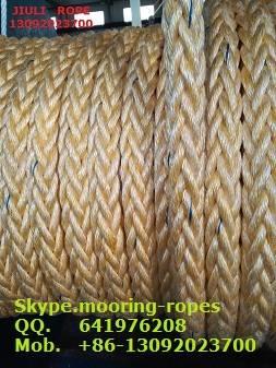 Mooring rope 8 strand marine-combi-rope