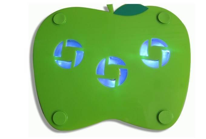 Apple Shape Notebook Cooler