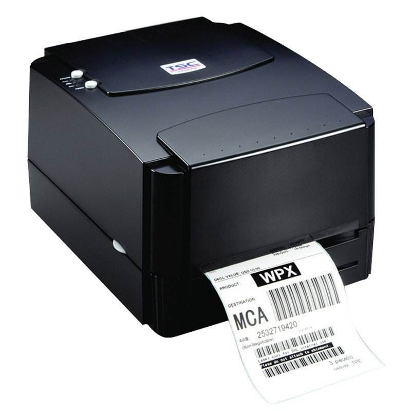 TSC TTP244pro desktop thermal transfer label barcode printers 203dpi