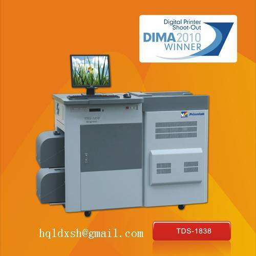 Minilab photo lab machine TDS-1838 10 by 12 inch (254 by 305 mm)