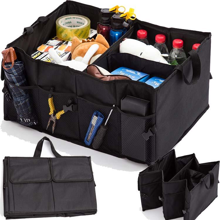 Foldablecar trunk organizer