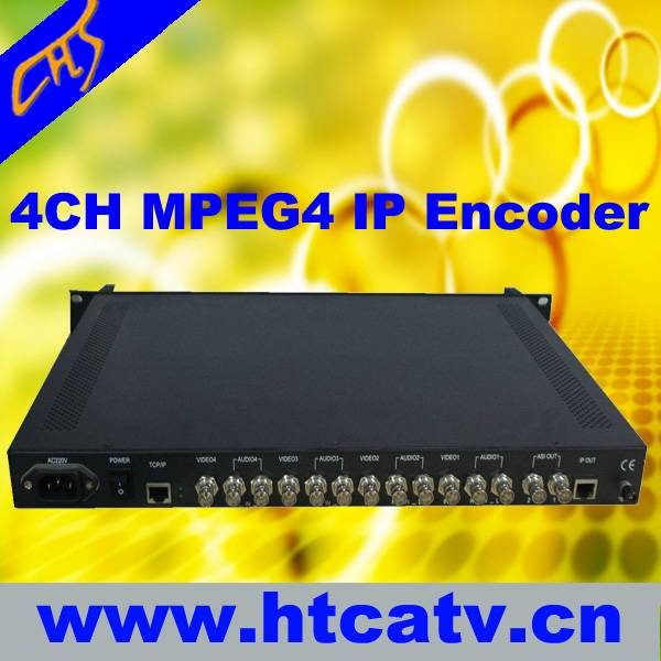 4 channel IPTV ENCODER