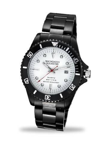 New stainless steel wrist watch