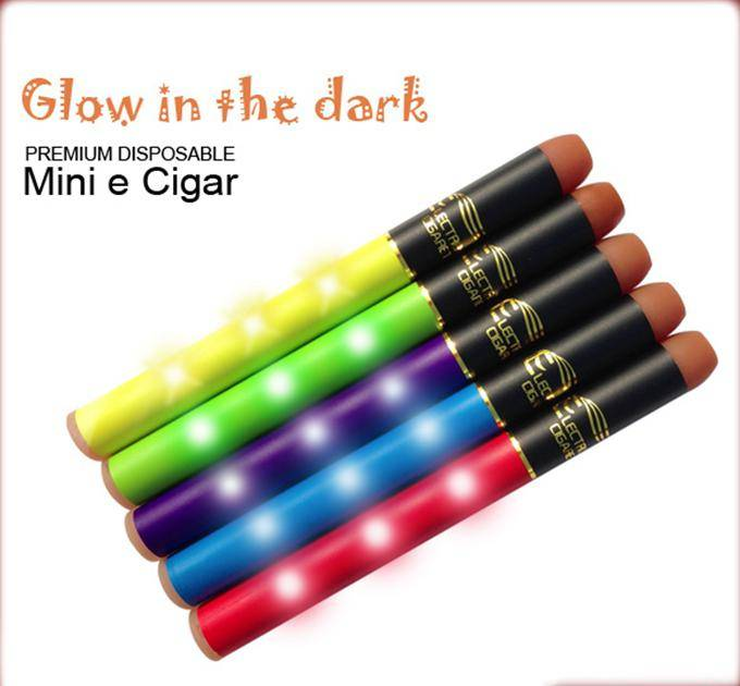 mini shining LED disposable electronic cigaret 500puffs,fashionable disposable cigarette