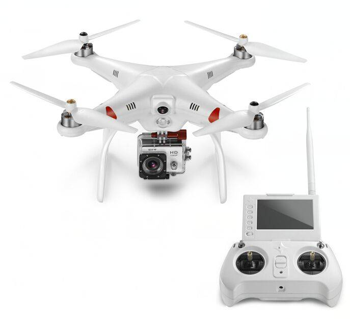 6 channels drone with sport camera