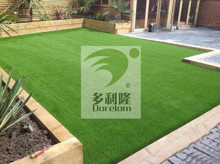home decoration fake grass turf in garden