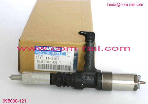 denso diesel injectors 095000-1211 for 6156-11-3300, 6156113300