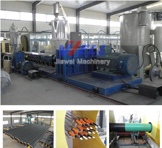 3PE antiseptic pipe production line