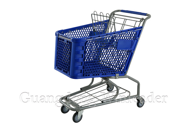 Plastic Shopping Cart