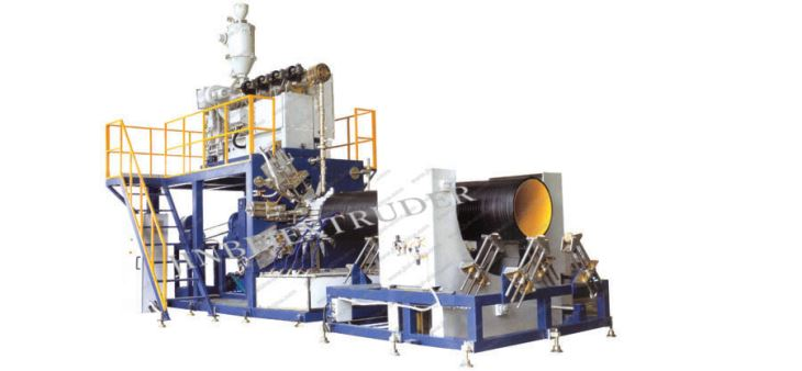 Steel Winding Pipe Production Line