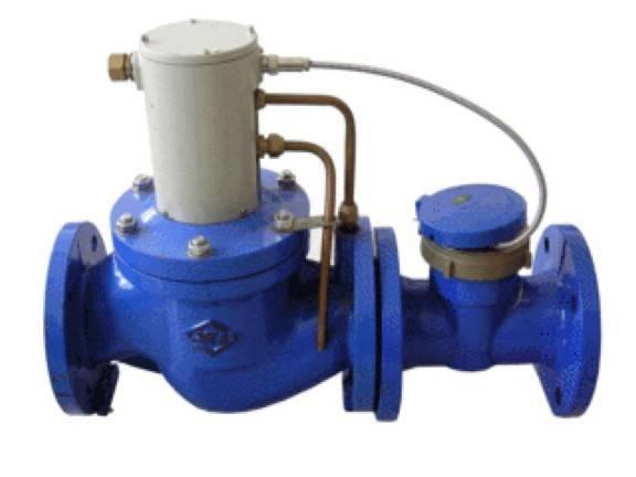 Big caliber water meter