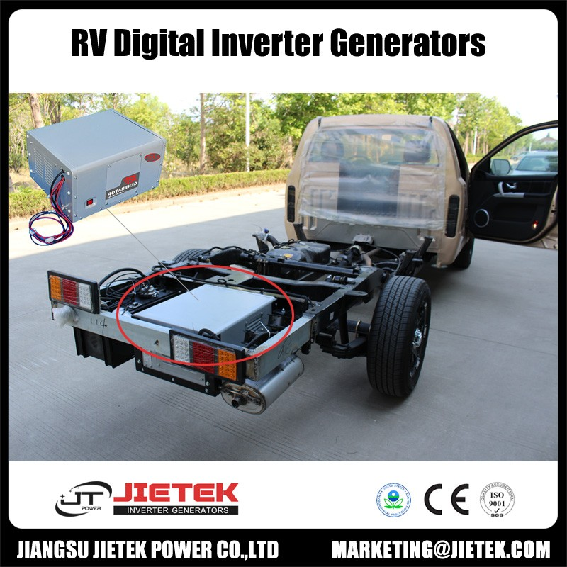 Digital inverter RV generator set for home use with remote LCM control