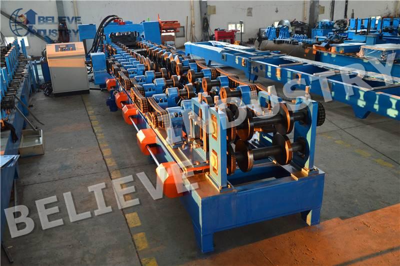C/Z Purlin Interchangeable Roll Forming Machine