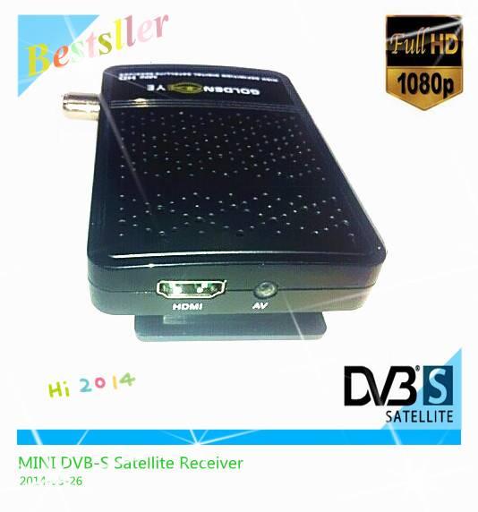 HOT FTA HD mini DVB-S satellite receiver European