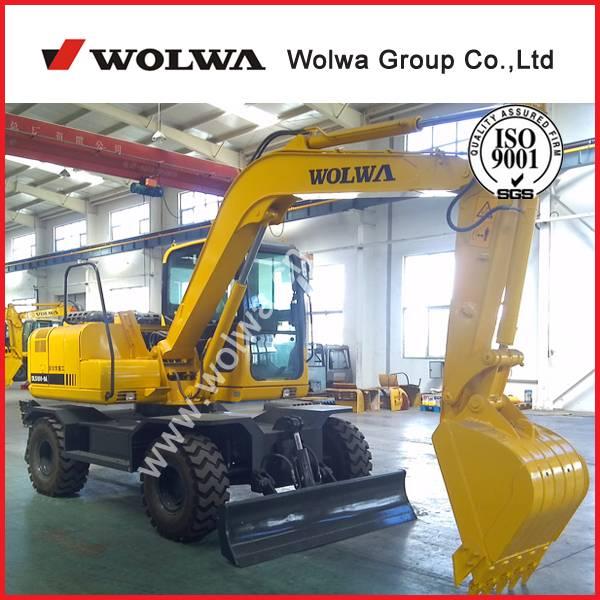 10 ton wheel excavator DLS100-9A