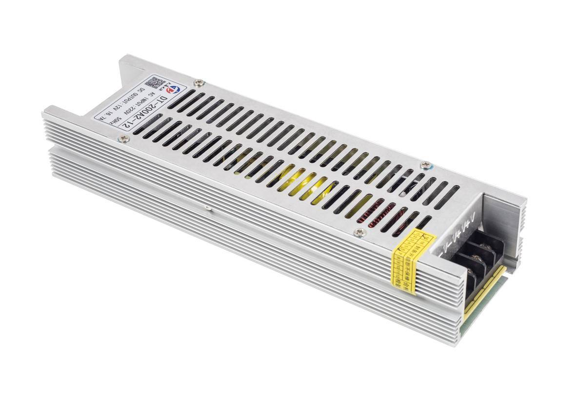 Slim Power Supply For Light Box 200W/250W 12V/24V/5V(DT-200H/250H)